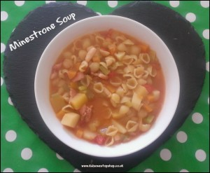 My Minestrone Soup