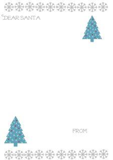 Letter To Santa Snowflake