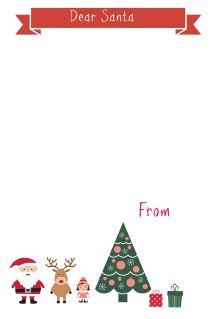 Letter to Santa Banner