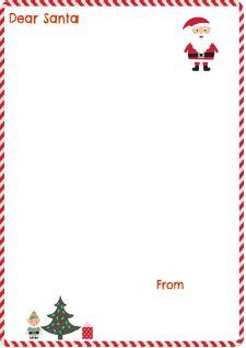 Santa Letter Red