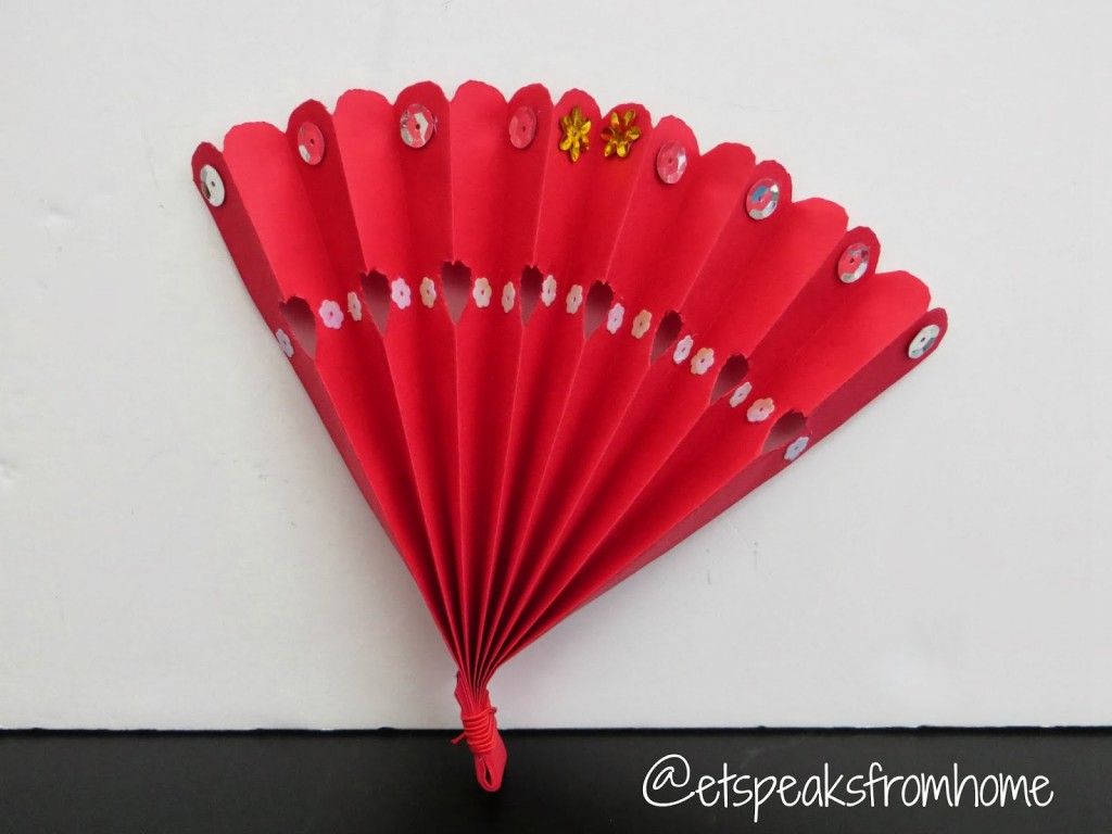 Chinese New Year Fan Craft