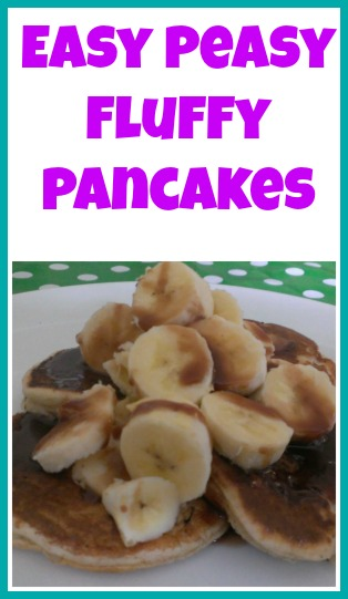 Easy Peasy Fluffy Pancakes