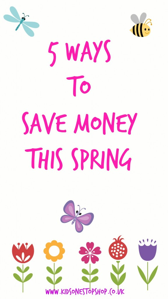 5 ways to Save Money This Spring