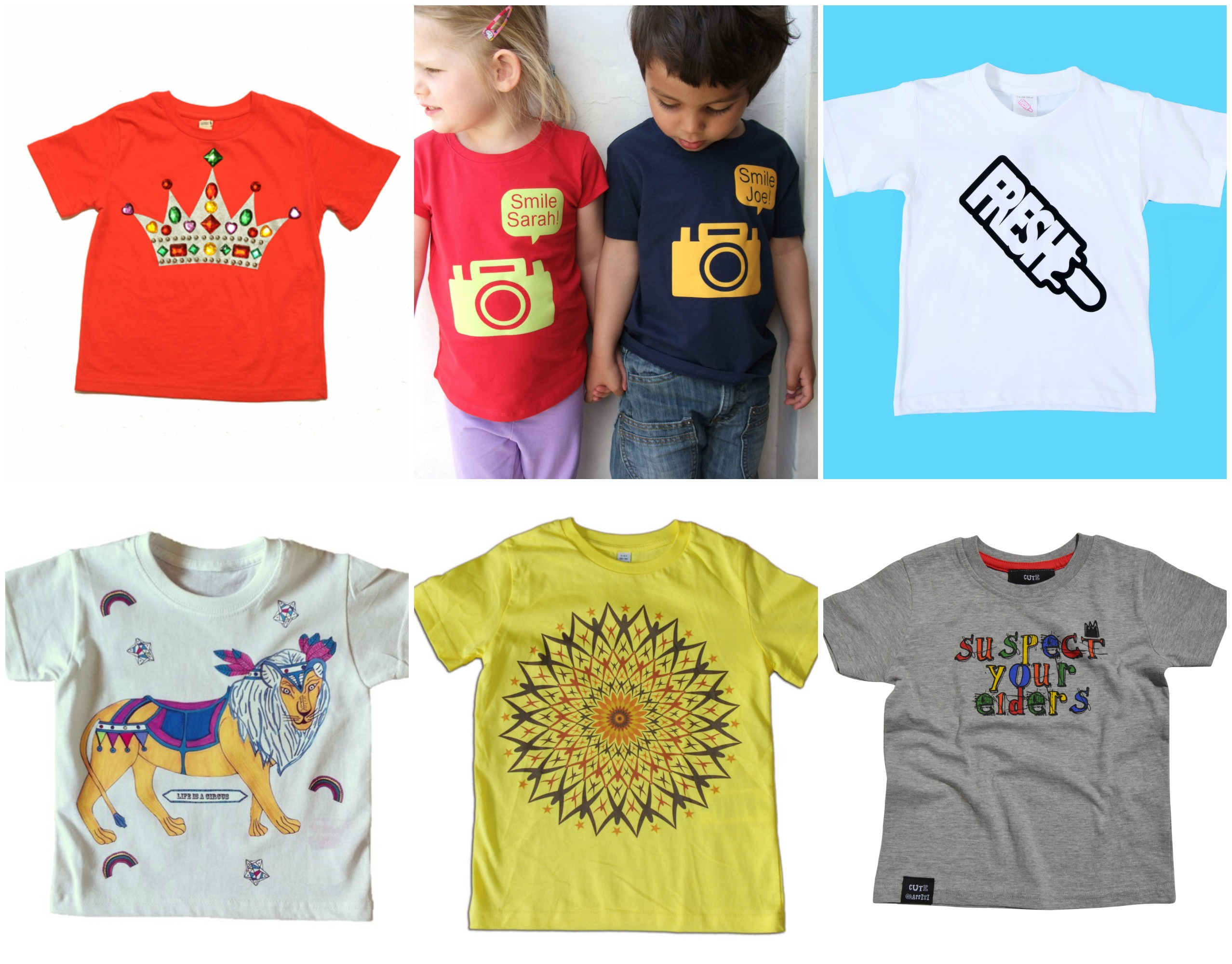 Funky Kids T-Shirts