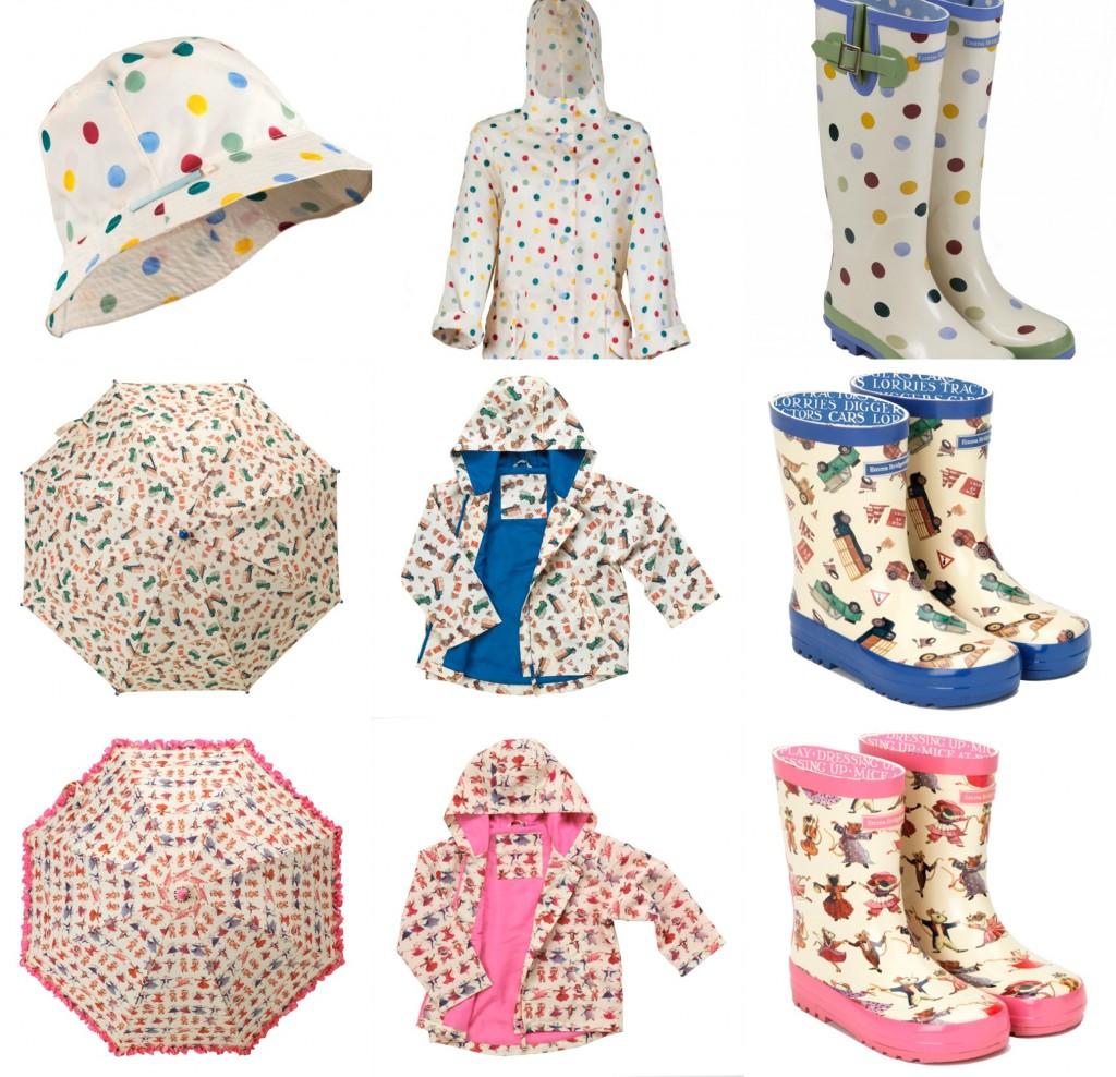 Emma Bridgewater Rain Wear