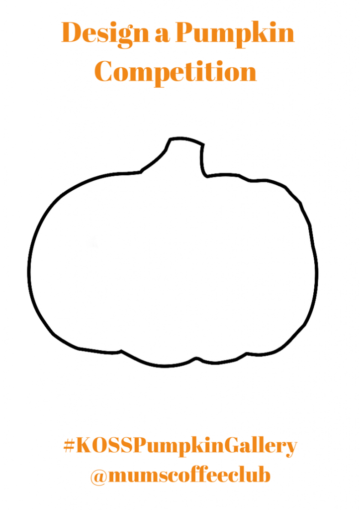 Kids One Stop Shop Design a Pumpkin Competition