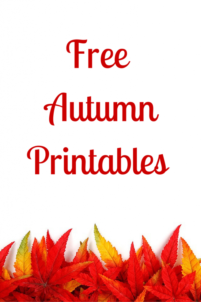 Free AutumnPrintables