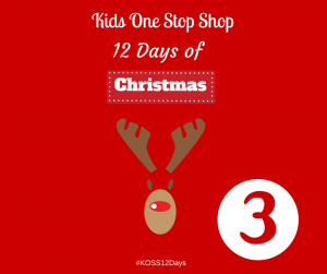 12 Days Of Christmas- Day 3. Win a £10 Voucher