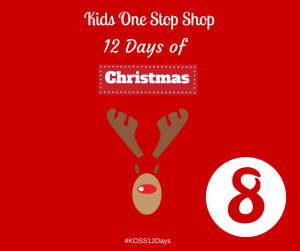 12 Days Of Christmas- Day 8. Win a £10 voucher