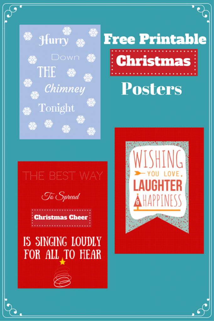 Free Printable Christmas Posters
