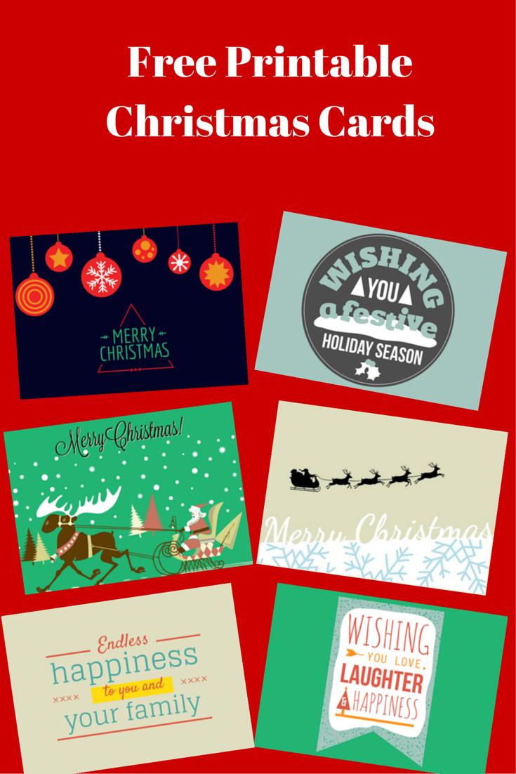 Free PrintableChristmas Cards