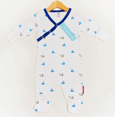 Boats and Wales Romper