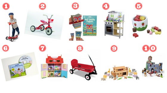 christmas Gift Ideas for pre-schooler
